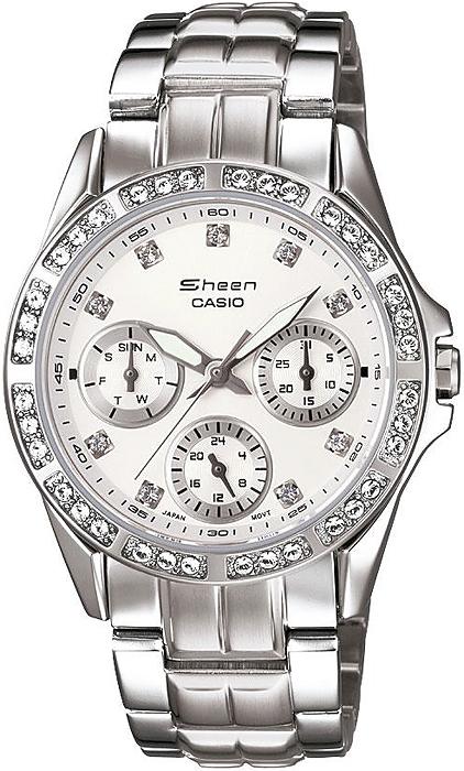 SHN-3013D-7AER - zegarek damski - duże 3