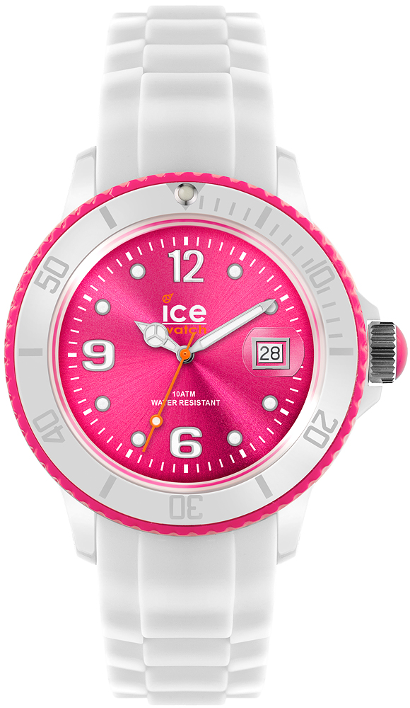 Zegarek ICE Watch Ice-White White-Pink Unisex - damski  - duże 3