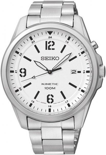 Zegarek męski Seiko kinetic SKA607P1 - duże 1
