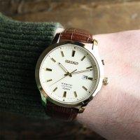 Zegarek męski Seiko kinetic SKA744P1 - duże 2