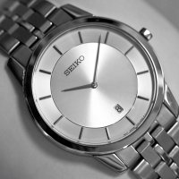 Zegarek męski Seiko classic SKP379P1-POWYSTAWOWY - duże 2