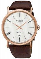 Zegarek męski Seiko premier SKP398P1 - duże 1