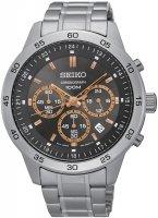 Zegarek męski Seiko chronograph SKS521P1 - duże 1