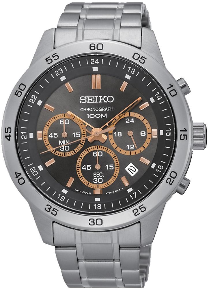 Zegarek Seiko SKS521P1 - duże 1