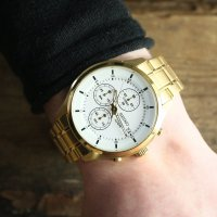 Zegarek męski Seiko chronograph SKS544P1 - duże 5