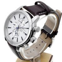 Zegarek męski Seiko chronograph SNAF51P1 - duże 3