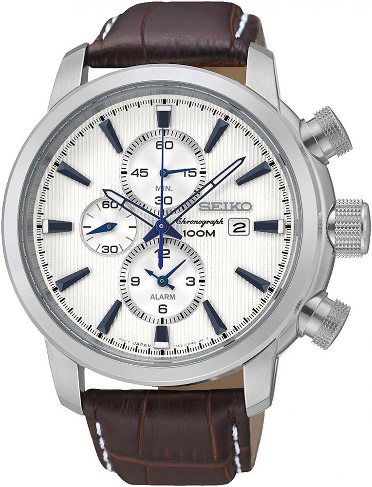 Zegarek Seiko SNAF51P1 - duże 1