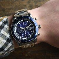 Zegarek męski Seiko chronograph SNDG55P1 - duże 2