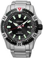 Zegarek męski Seiko solar SNE295P1 - duże 1