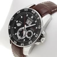 Zegarek męski Seiko sportura SNP055P2 - duże 2