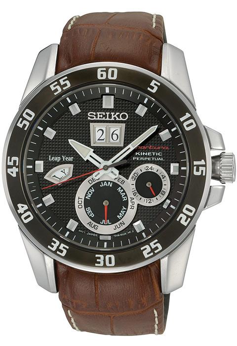 Zegarek męski Seiko sportura SNP055P2 - duże 1