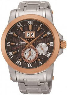 zegarek Kinetic Perpetual Novak Djokovic Special Edition Seiko SNP128P1