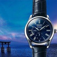 Zegarek męski Seiko presage SPB073J1 - duże 2