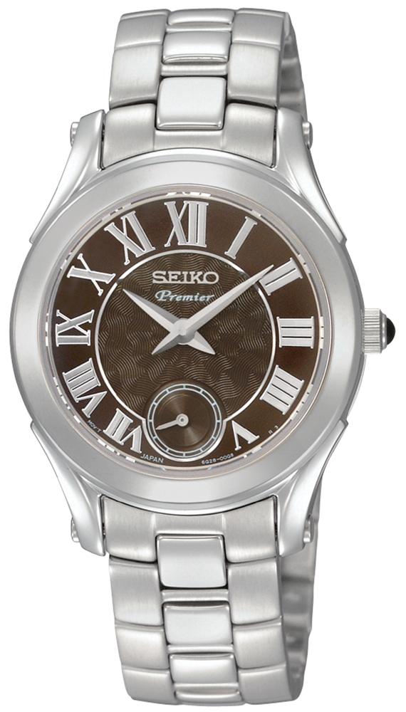 Seiko SRKZ71P1 Premier Quartz 100m Premier