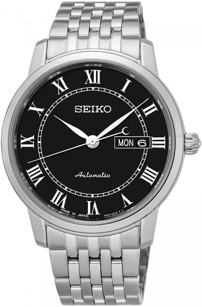 Zegarek męski Seiko automatic SRP765J1 - duże 3