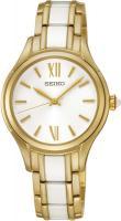 Zegarek damski Seiko classic SRZ398P1 - duże 1