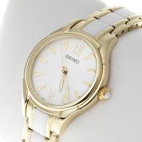 Zegarek damski Seiko classic SRZ398P1 - duże 2