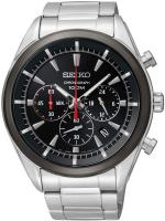 Zegarek męski Seiko chronograph SSB089P1 - duże 1