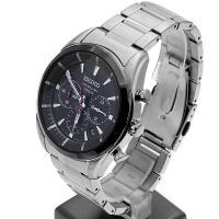 Zegarek męski Seiko chronograph SSB089P1 - duże 3