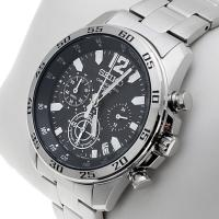 Zegarek męski Seiko chronograph SSB125P1 - duże 2