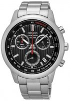 Zegarek męski Seiko chronograph SSB205P1 - duże 1