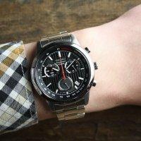 Zegarek męski Seiko chronograph SSB205P1 - duże 2