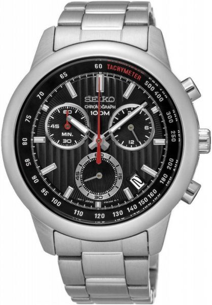 Zegarek Seiko SSB205P1 - duże 1