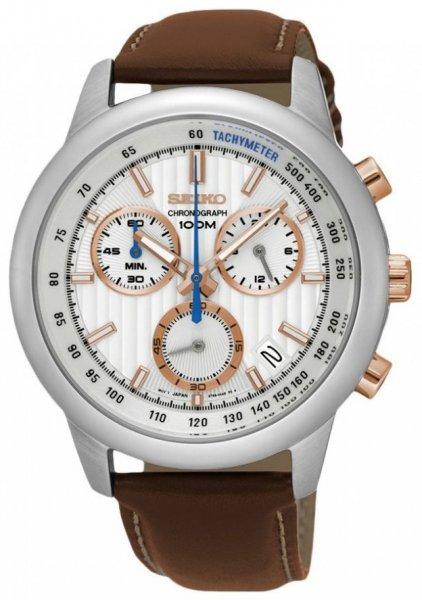 Zegarek Seiko SSB211P1 - duże 1