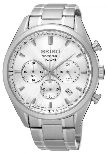 Zegarek Seiko SSB221P1 - duże 1