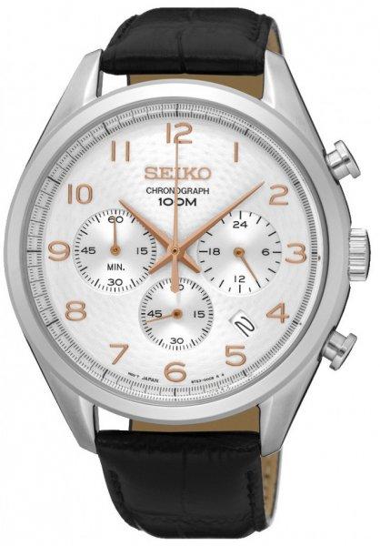 Zegarek Seiko SSB227P1 - duże 1