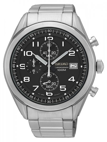 SSB269P1 - zegarek męski - duże 3