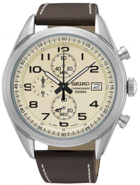 Zegarek Seiko SSB273P1 - duże 1