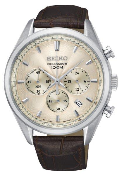 SSB293P1 - zegarek męski - duże 3