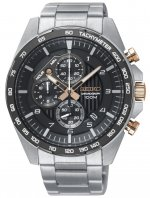 Zegarek męski Seiko chronograph SSB323P1 - duże 1