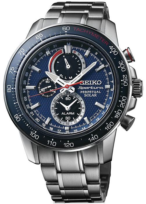 Zegarek Seiko SSC355P1 - duże 1