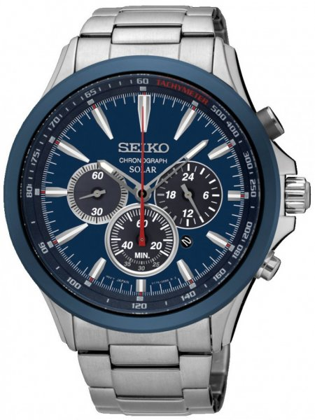 Zegarek Seiko SSC495P1 - duże 1