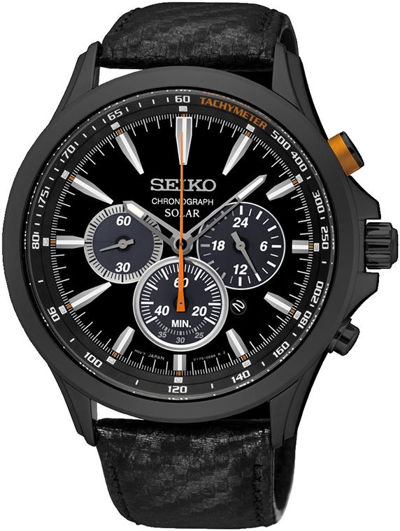 SSC499P1 - zegarek męski - duże 3