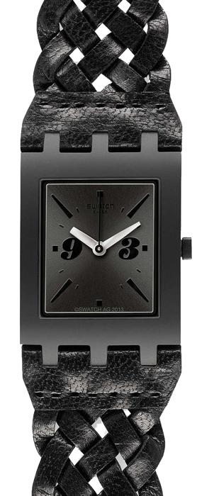Zegarek damski Swatch originals square SUBB124 - duże 1