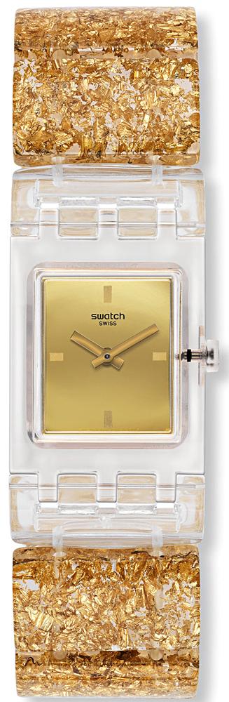 Swatch SUBK159A Originals Square GOLDEN JEWEL