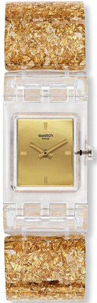Swatch SUBK159B Originals Square GOLDEN JEWEL