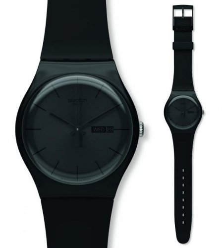 Swatch SUOB702 Originals New Gent BLACK REBEL