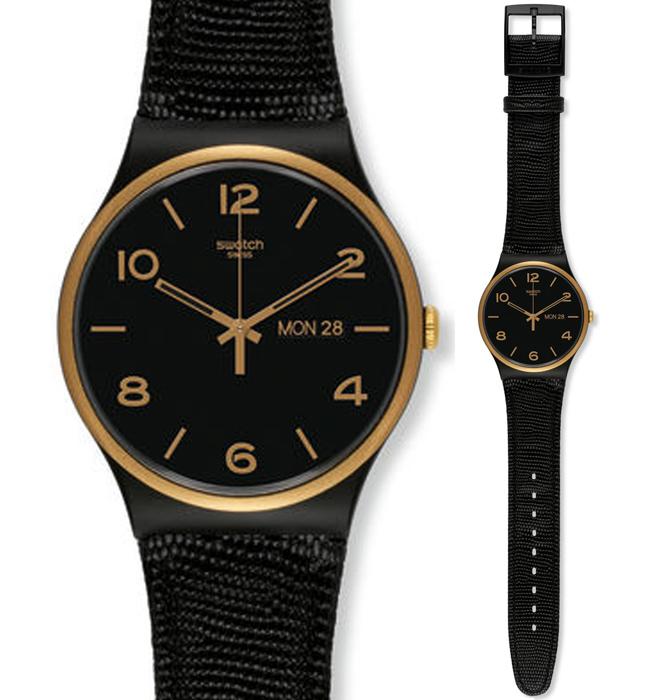 Zegarek damski Swatch originals new gent SUOB706 - duże 1