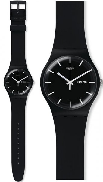 Swatch SUOB720 Originals New Gent MONO BLACK