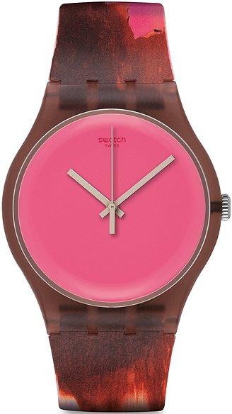 Zegarek Swatch Rough Pink - damski  - duże 3