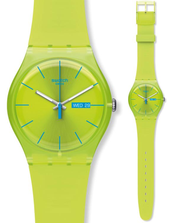 Swatch SUOG702 Originals New Gent Lime Rebel