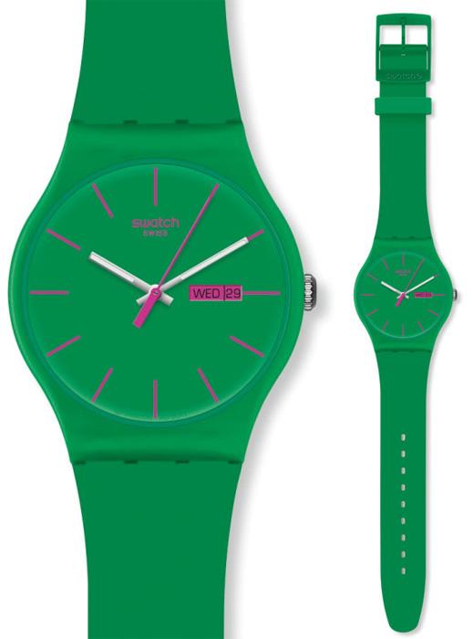 Swatch SUOG704 Originals New Gent Green Rebel