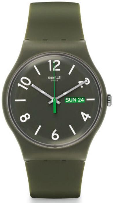 Swatch SUOG706 Originals New Gent Backupo green