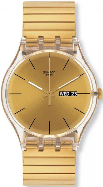 Zegarek męski Swatch originals new gent SUOK702A - duże 1