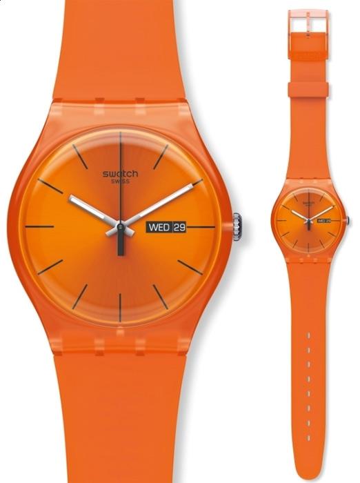Zegarek Swatch Pumpkin Rebel - męski  - duże 3