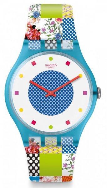 Zegarek damski Swatch originals new gent SUOS108 - duże 1